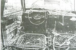 Brandanschlag auf Auto 1991